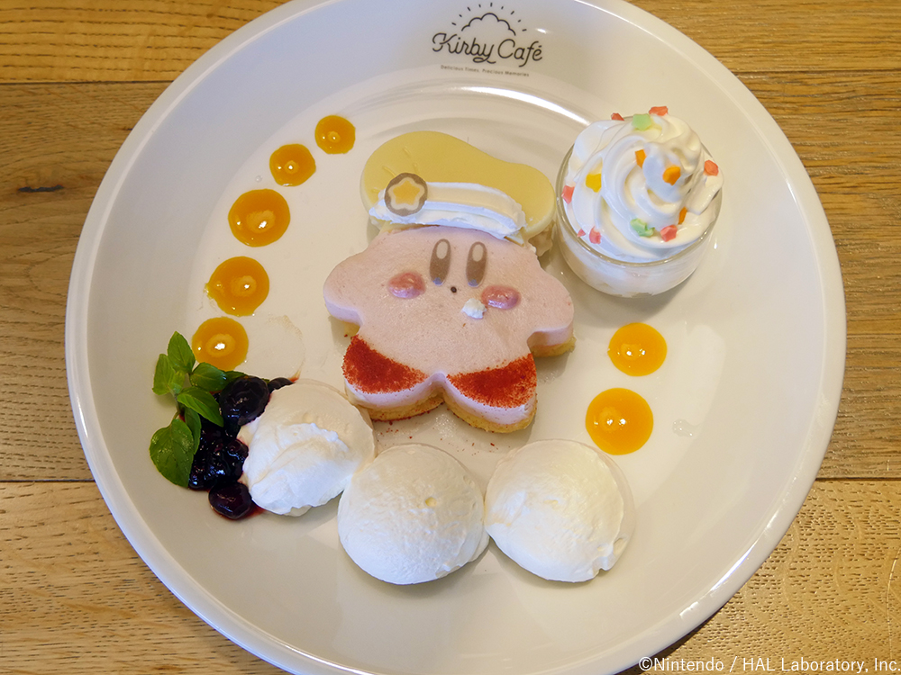 Kirby Fluffy Strawberry mousse