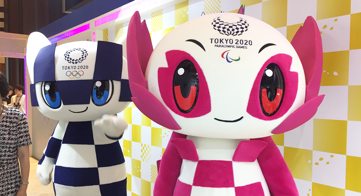 A chance to take photos with the Tokyo 2020 Olympic ...
